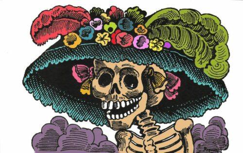 Catrina garbancera - Guadalupe | Coloreada por Daniel Hernández.