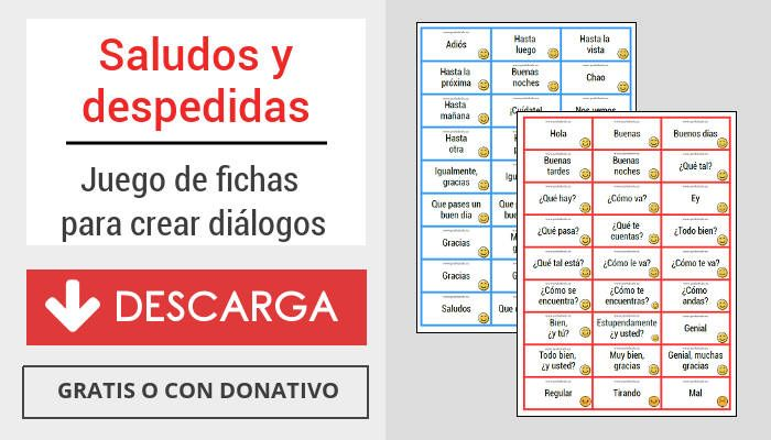 Saludos Y Despedidas En Español Profedeelees
