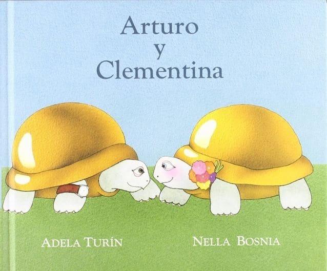 """Portada del cuento """"Arturo y Clementina"""""""
