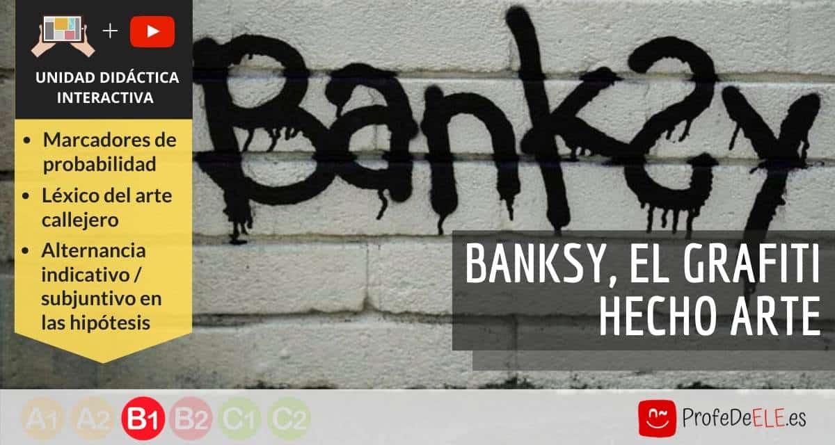 Banksy, el grafiti hecho arte ELE
